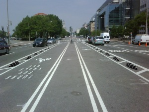 Bike Lane Bumps DC