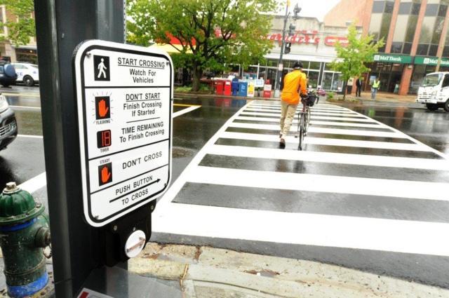 pedestrian signal small